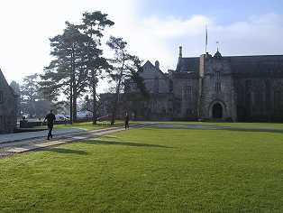 dartington hall, devon, uk (well, half of it)